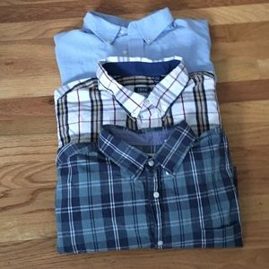 Other - Bundle of 3 long sleeves button up men's shirts